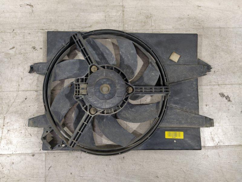 Вентилятор радиатора (в сборе) Ford Fiesta (2001-2008) 1.4-1.6 БЕНЗИН (б/у)