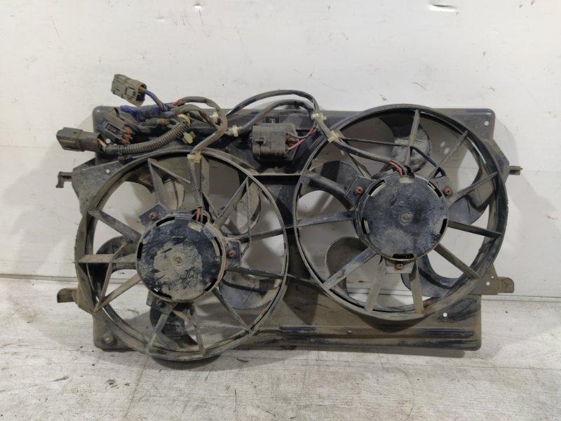 Вентилятор радиатора (в сборе) Ford Focus 1 1998-2005 1.8-2.0 ZETEC 16V (б/у)