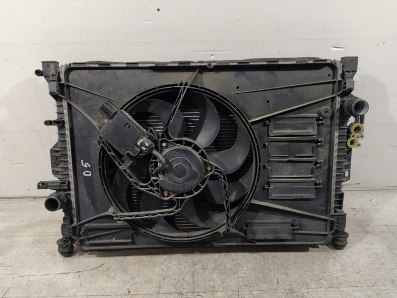 Кассета радиаторов Ford Mondeo 4 (2007-2014) ХЭТЧБЕК 2.0L DURATEC-HE (145PS) 2008 (б/у)