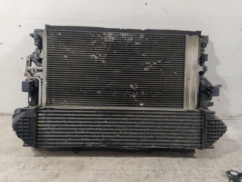 Кассета радиаторов Ford Mondeo 4 (2007-2014) ХЭТЧБЕК 2.0L DURATORQ-TDCI (143PS) - DW 2009 (б/у)