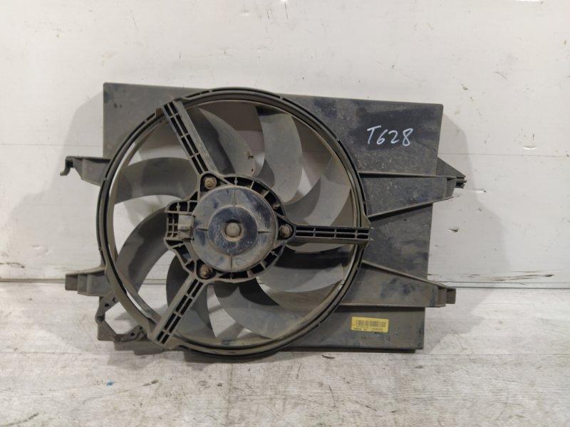 Вентилятор радиатора (в сборе) Ford Fusion 2001-2012 ХЭТЧБЕК 1.6L ZETEC-S/DURATEC EFI (100PS) 2007 (б/у)