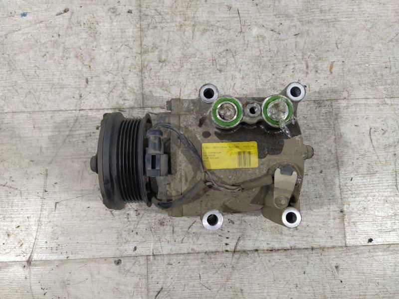 Компрессор кондиционера Ford Fusion 2001-2012 ХЭТЧБЕК 1.6L ZETEC-S/DURATEC EFI (100PS) 2007 (б/у)