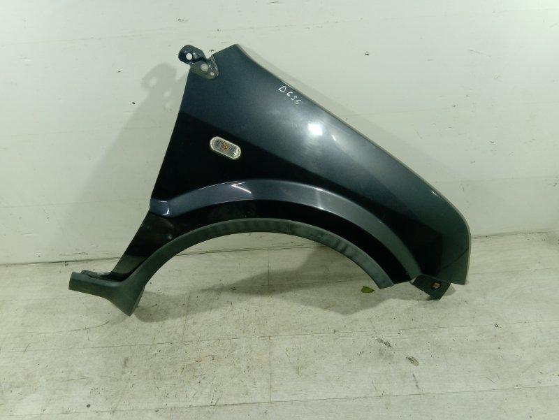 Крыло переднее правое Ford Fusion 2001-2012 ХЭТЧБЕК 1.4L DURATEC 16V EFI DOHC (75/80PS) 2007 (б/у)
