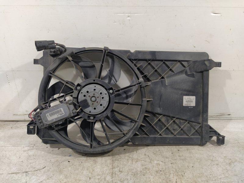 Вентилятор радиатора (в сборе) Ford Focus 2 2008-2011 ХЭТЧБЕК 2.0L DURATEC/AODA 2008 (б/у)