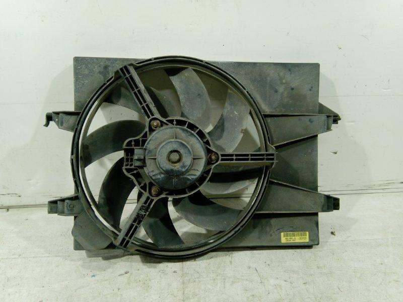 Вентилятор радиатора Ford Fusion 2001-2012 ХЭТЧБЕК 1.4L DURATEC 16V EFI DOHC (75/80PS) 2007 (б/у)