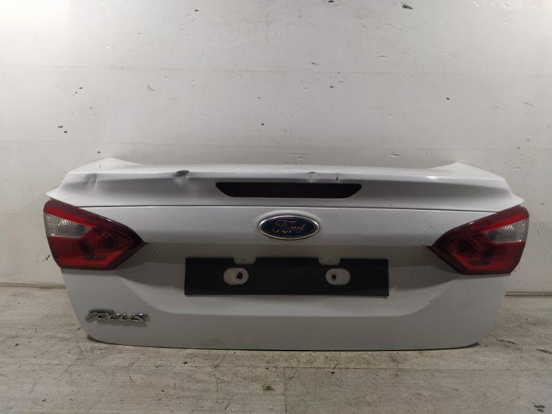 Крышка багажника Ford Focus 3 (2011>) СЕДАН 2.0L DURATEC DI TIVCT (154PS) 2012 (б/у)