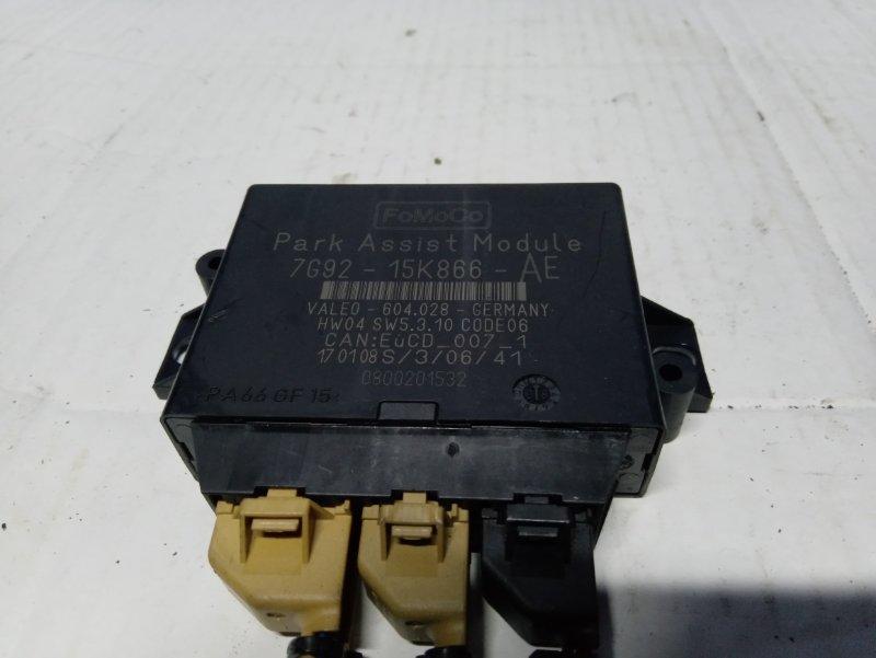 Блок управления парктрониками Ford S-Max 2006- УНИВЕРСАЛ 2.5L DURATEC-ST (220PS) 2008 (б/у)