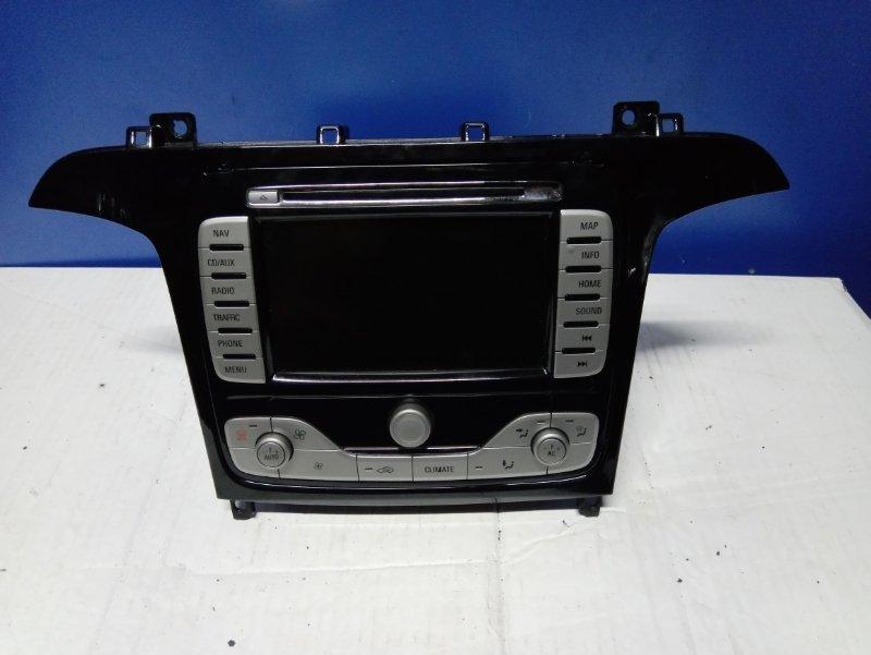 Магнитола Ford S-Max 2006- УНИВЕРСАЛ 2.5L DURATEC-ST (220PS) 2008 (б/у)