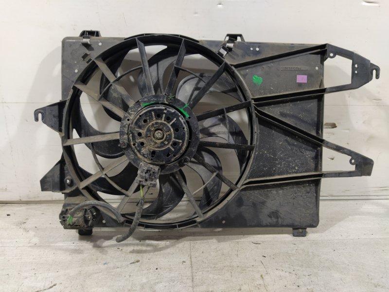 Вентилятор радиатора (в сборе) Ford Mondeo 3 (2000-2007) 1.8-2.0 DURATEC (б/у)