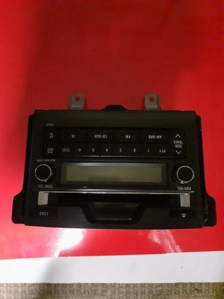 Магнитола штатная Toyota Land Cruiser Prado GRJ150 1GRFE (б/у)