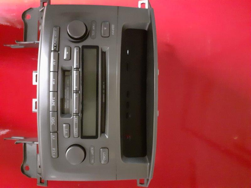 Магнитола штатная Toyota Land Cruiser HDJ100 1HDFTE 2005 (б/у)