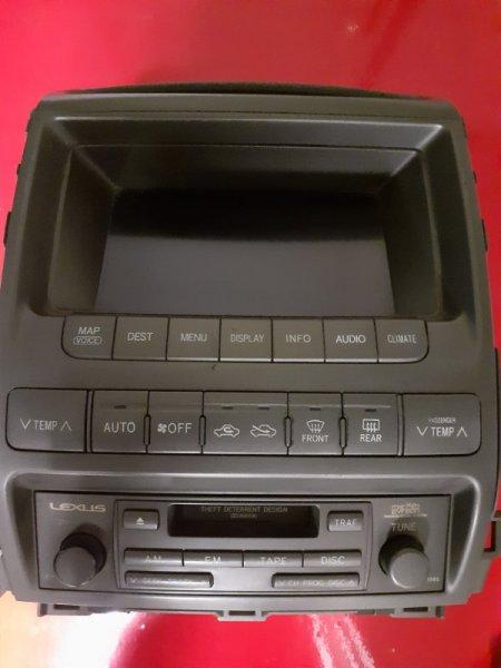 Магнитола штатная Lexus Gx 1 GX450 (б/у)