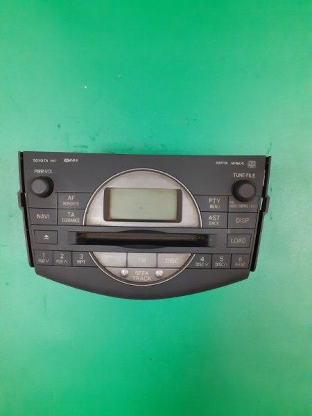 Магнитола штатная Toyota Rav4 ACA30 2AZFE (б/у)