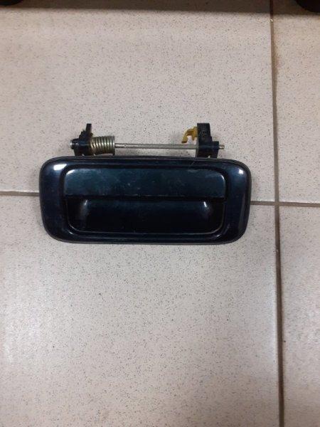 Ручка двери внешняя Toyota Land Cruiser FZJ80 задняя левая (б/у)