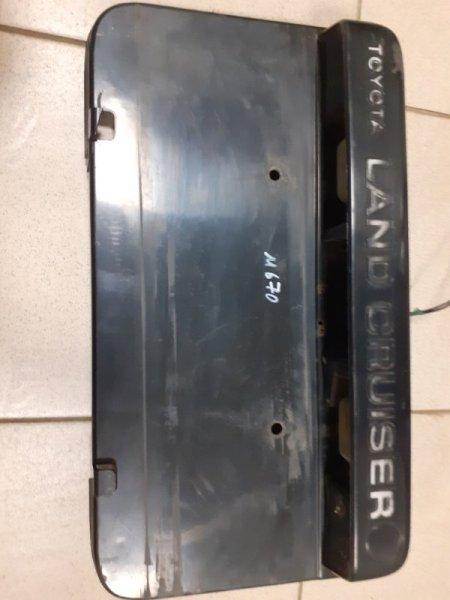 Фонарь подсветки номерного знака Toyota Land Cruiser 80 (б/у)