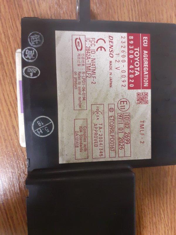 Блок управления круиз-контролем Toyota Rav4 1AZFE (б/у)