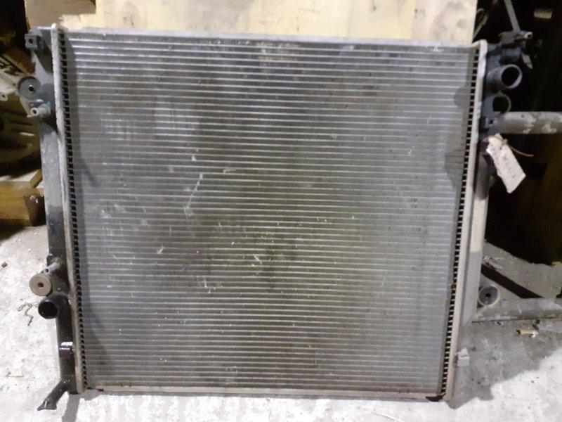 Радиатор двс Toyota Land Cruiser Prado 120 1GRFE (б/у)