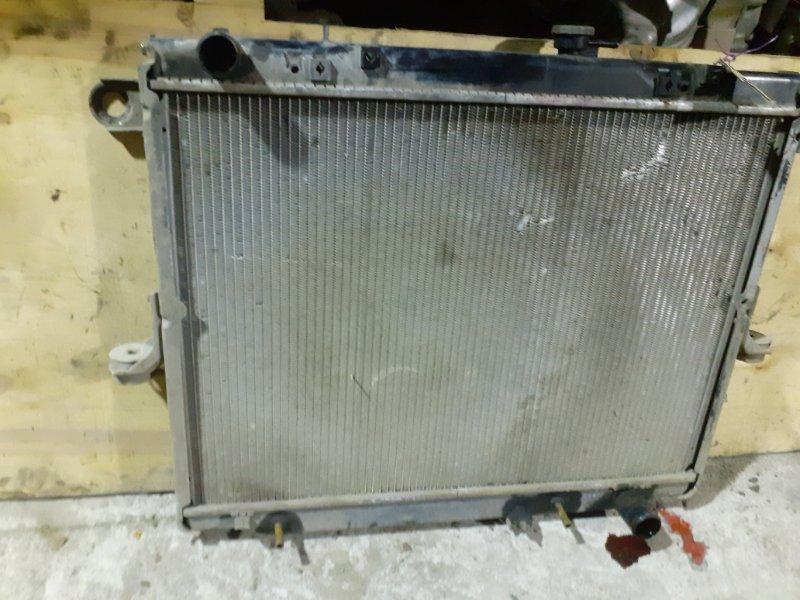 Радиатор двс Toyota Land Cruiser 100 2UZFE (б/у)