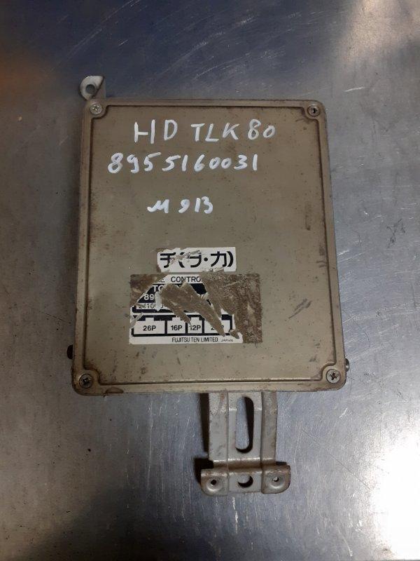 Блок управления двс Toyota Land Cruiser 80 1HDFT (б/у)