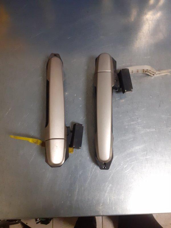 Ручка двери внешняя Toyota Rav4 ACA30 задняя (б/у)