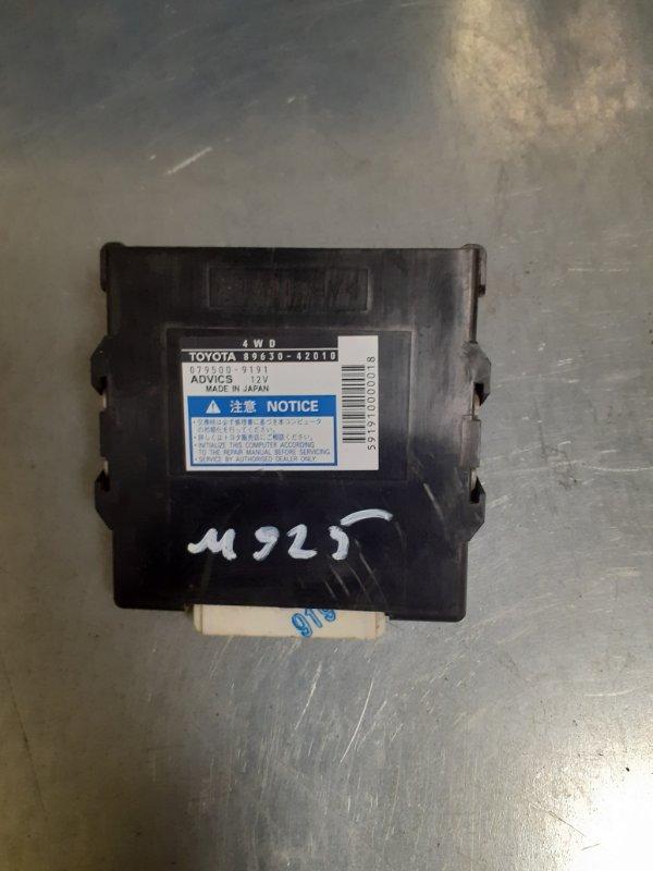 Блок управления полным приводом Toyota Rav4 ACA30 2AZ (б/у)