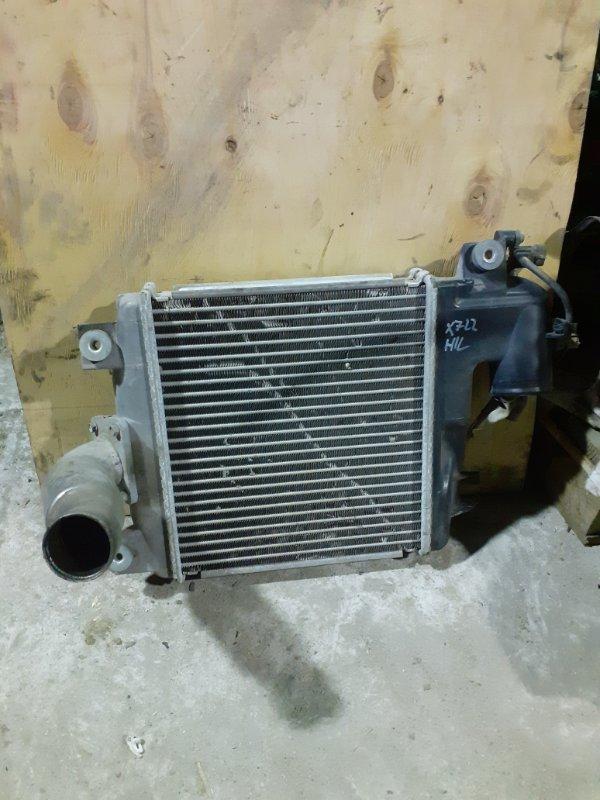 Радиатор турбины (интеркулер) Toyota Hilux KUN125 (б/у)
