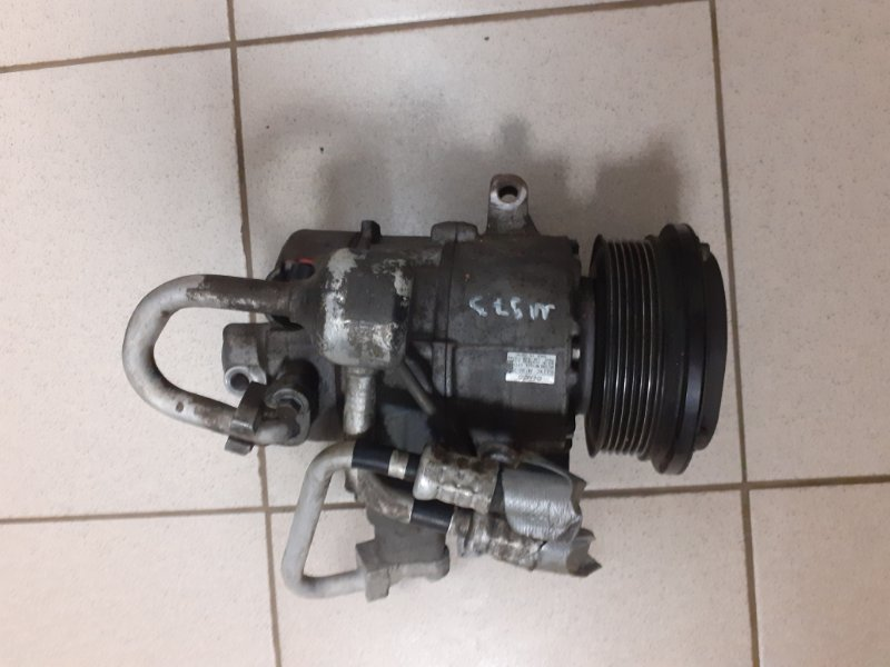 Компрессор кондиционера Toyota Estima 2AZFE (б/у)