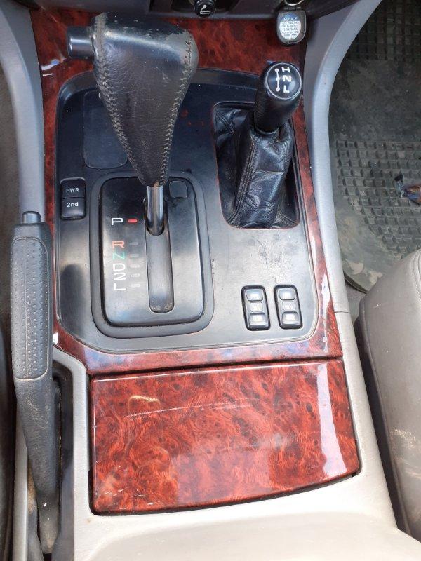 Консоль кпп Toyota Land Cruiser 100 2UZFE 2005 левый (б/у)