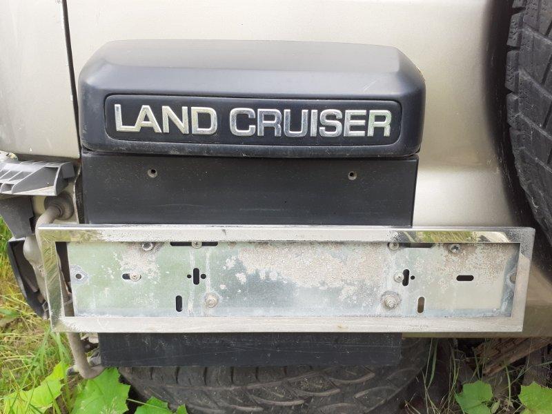 Фонарь подсветки номерного знака Toyota Land Cruiser Prado 120 1GRFE (б/у)