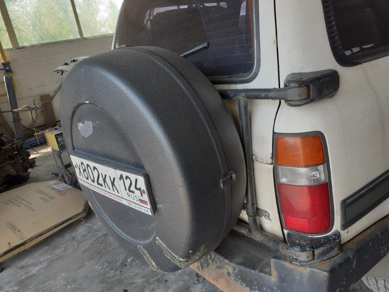 Калитка запаски Toyota Land Cruiser 80 задняя правая (б/у)