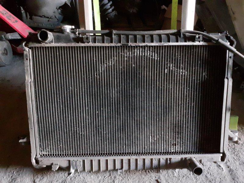 Радиатор двс Toyota Land Cruiser 80 1FZ (б/у)