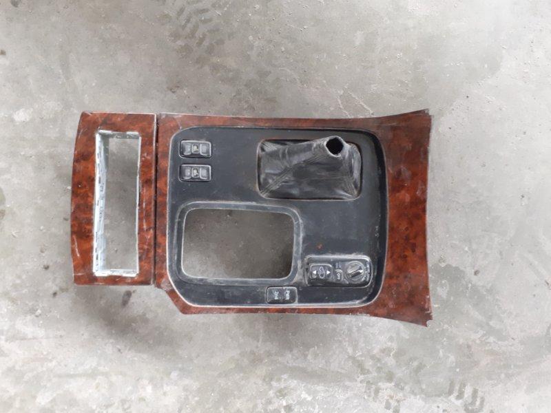 Консоль кпп Toyota Land Cruiser 100 2UZFE передний правый (б/у)