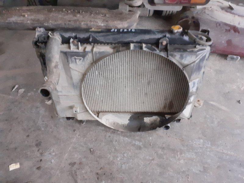 Радиатор двс Toyota Land Cruiser 80 1FZFE (б/у)