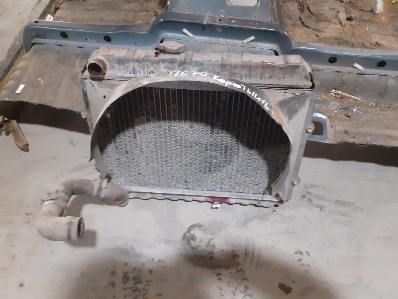 Радиатор двс Toyota Land Cruiser 70 2LT (б/у)