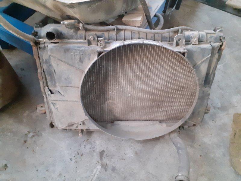 Радиатор двс Toyota Land Cruiser 80 1HDT (б/у)