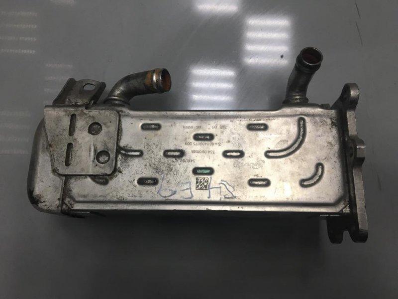 Радиатор системы egr Mercedes C Class W204 651.911 2010 правый (б/у)