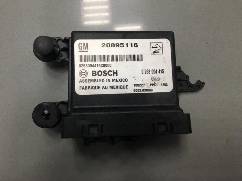 Блок управления парктрониками Chevrolet Cruze 1 2008 (б/у)