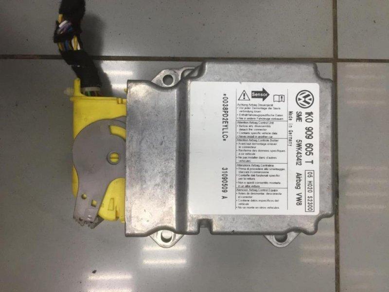 Блок управления air bag Skoda Octavia A5 1Z 1 2009 правый (б/у)