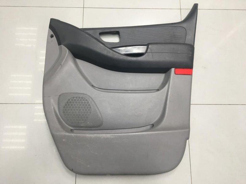 Обшивка двери Hyundai Starex H1 2 2009 передняя правая (б/у)