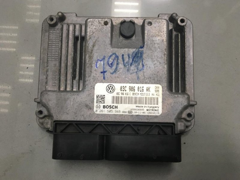 Блок управления двигателем Skoda Octavia A5 1 2010 (б/у)