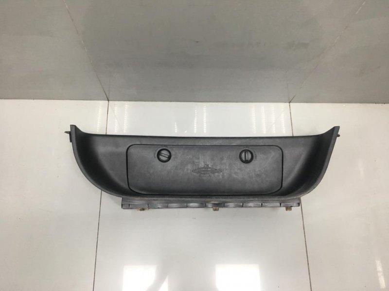 Накладка порога внутренняя Hyundai Starex H1 2 2009 передняя (б/у)