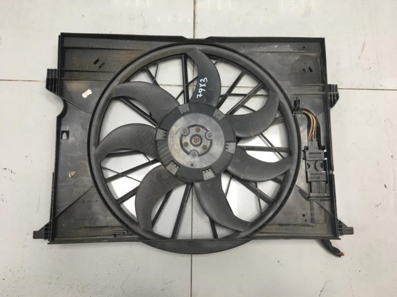 Вентилятор радиатора Mercedes E Class W211 3.0 2007 (б/у)