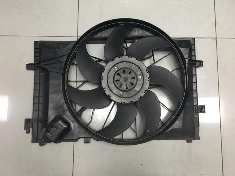 Вентилятор радиатора Mercedes C Class W203 2 2006 (б/у)