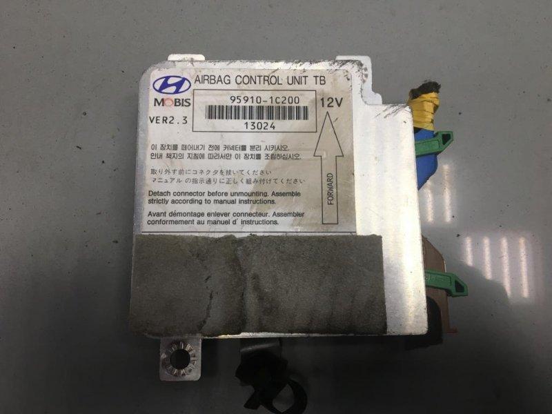 Блок управления air bag Hyundai Getz правый (б/у)