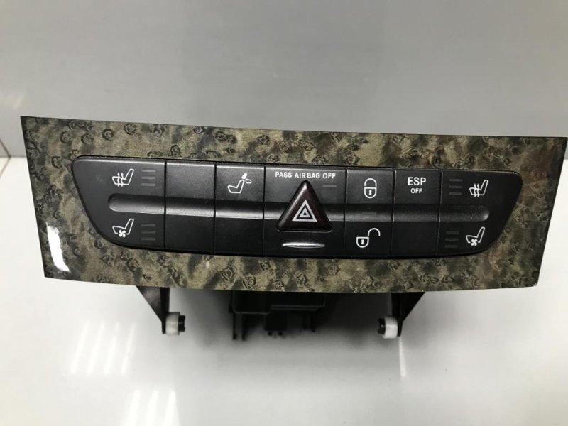 Кнопка аварийной сигнализации Mercedes E Class W211 (б/у)