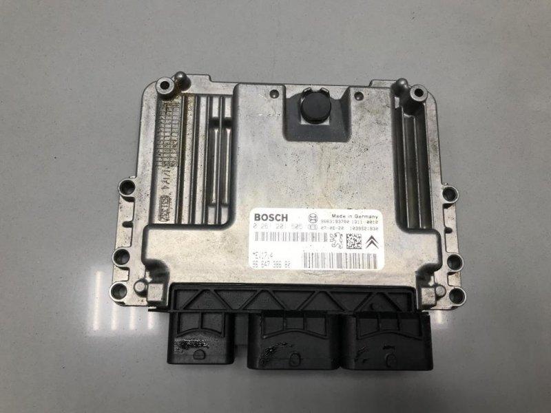 Блок управления двигателем Peugeot 308 1 2008 (б/у)