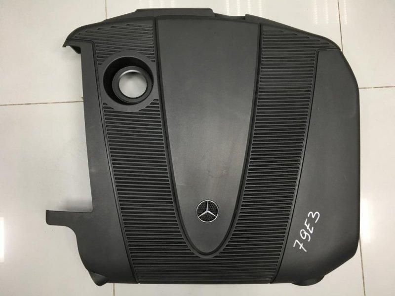 Накладка двигателя Mercedes C Class W203 2 2007 (б/у)