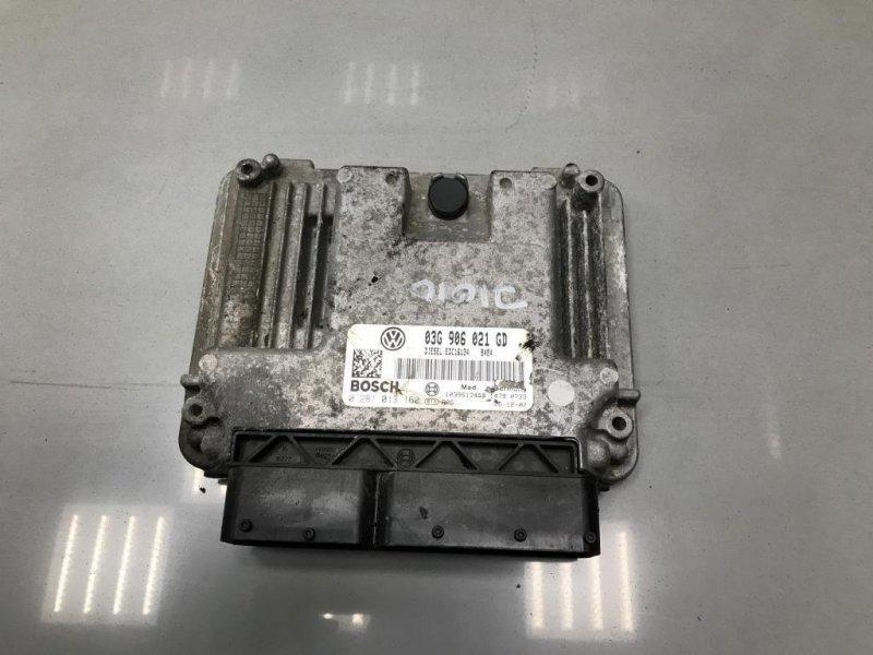 Блок управления двигателем Skoda Octavia A5 2.0 2006 (б/у)
