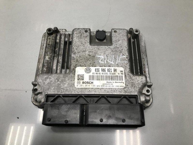 Блок управления двигателем Skoda Octavia A5 1 2008 (б/у)