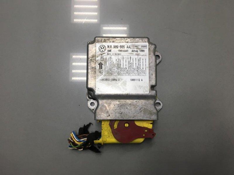 Блок управления air bag Skoda Octavia A5 1Z 1 2008 правый (б/у)